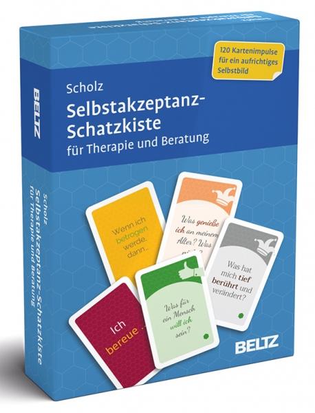 SELBSTAKZEPTANZ-Schatzkiste für Therapie und Beratung 16+