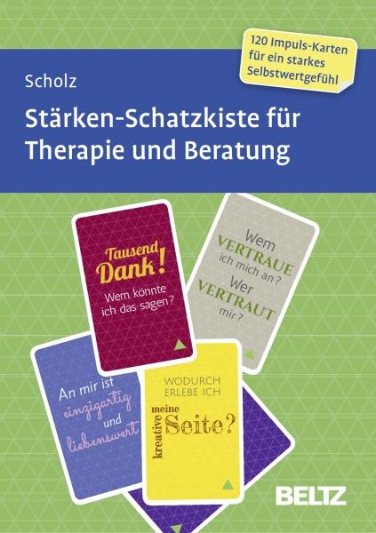 STÄRKEN-Schatzkiste für Therapie & Beratung 16+  (Messe-Exemplar gebraucht)