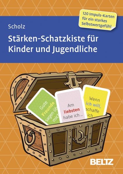 STÄRKEN-Schatzkiste für Kinder & Jugendliche 7+, 11+, 15+  (Messe-Exemplar gebraucht)
